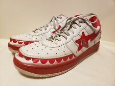 1e2d212de82056 A BATHING APE Footsoldier-002 US 11 EURO 29 Red Trapstar Rare Sneaker Free