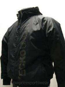 ECKO MENS RUNNER BLACK FULL ZIP HOODED JACKET WINDRUNNER TRACKSUIT TOP BRAND NEW