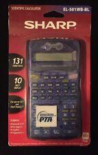Sharp Scientific Calculator El-501 Wb-bl