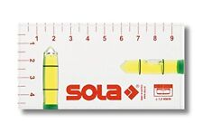 Sola 1616101 R 102 Plastic Spirit Level, Transparent