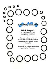WDP Angel 1 /  Angel1 Paintball Marker O-ring Oring Kit x 4 rebuilds / kits