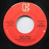 Country 45 Eddie Rabbitt - Step By Step / My Only Wish On Elektra