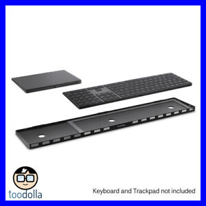 TWELVE SOUTH MagicBridge Extended for Magic Trackpad 2 and Magic Keyboard, Black