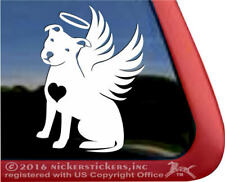 American Pit Bull Terrier Angel Memorial Decal