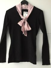 82495dd2ef4a92 neu * Orsay * Pullover * schwarz * rose / rosa * S / 36