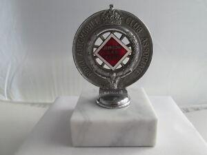 RAC badge. Junior car club associate badge. Motor club. AA. Brooklands JCC.