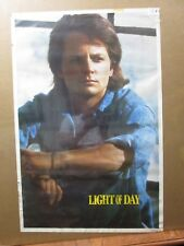 Light of day vintage Actor 1987 Michael J. Fox  poster movie 12674