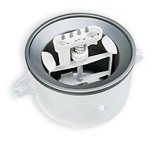 KitchenAid KICA0WH Ice Cream Maker Attachment fits 5 to 6 quart mixers