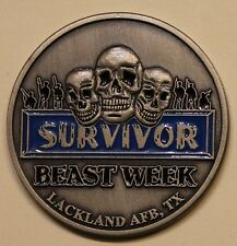 Survivor Beast Week Lackland Air Force Base Basic Training Challenge Coin