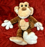 "Trudi Monkey Chimp Soft Toy 14"" Beanie Middle"