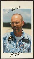 s1028) Loren Acton 27-2-89 Spacelab 2 - NASA Photo Autogramm Autograph OU