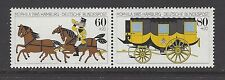 WEST GERMANY # B/635a  (634-635)  MNH  HORSES, STAGECOACH