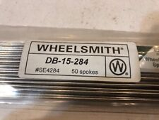 Pack Of 50 Wheelsmith DB-15-284mm Spokes NEW