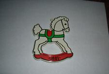 Hallmark Painted Rocking Horse Cookie Cutter 1981 Excellent Shape