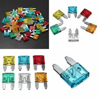 60Pcs Auto Car Vehicle Mini Blade Fuse 5A 10A 15A 20A 25A 30A AMP Assortment Kit