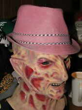 CREMIEUX Men's Fedora Cotton L / XL Red - New w/Tags