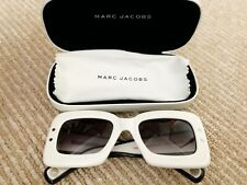 NEW Marc Jacobs MARC305S-024S1V Gold White Sunglasses