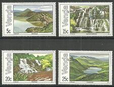 Venda - Seen und Wasserfälle Satz postfrisch 1981 Mi. 42-45