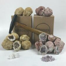 Combo 20 Pack - Break Open Mexican Amethyst & Moroccan Geodes Gift Boxed Sets
