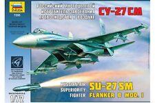 ZVEZDA 7295 1/72 Russian Air Superiority Fighter Su-27SM Flanker B Mod. 1