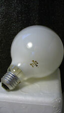 CASE OF 6, SYLVANIA 60 Watt FROSTED GLOBE BULBS, STANDARD SCREW BASE, #14406-6