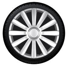 Tapacubos Tapacubos Spyder Pro Plata 13 Pulgadas Cubierta de la rueda