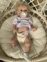 Soft Silicone Full Body Baby Dolls Reborn Toddler Girl Anatomically Correct Doll