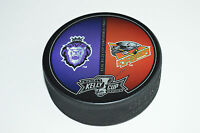 2013 KELLY CUP PLAYOFFS SOUVENIR PUCK ECHL Reading Royals vs Cincinnati Cyclones