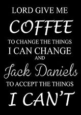 Coffe Jack Daniels Accept Les Choses Citation Drôle Image Source D'inspiration