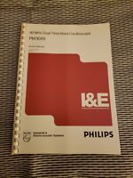 Phillips PM3055  60 MHz Dual Time Base Oscilloscope SERVICE MANUAL