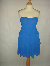 Chiffon Bandeau Short/Mini Sundresses for Women