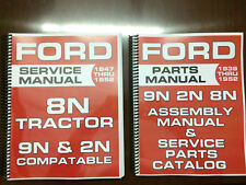 Ford 8N 9N 2N Service Manual Parts Manual Assembly Manual Shop Manual Overhaul
