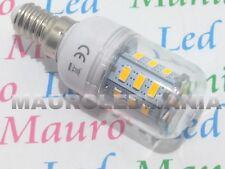 E14 LED Mignon Lampada 4W RESA 40W 24 SMD 5730 AC 220-240V Bianco Caldo PAVIA