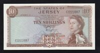 THE STATES OF JERSEY ----- 10  SHILLINGS  1963 ----- a-UNC/UNC ------