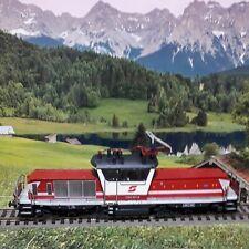 Static Ho model of a Austrian (OBB) class 1163  electric locomotive.