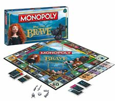 31534 MONOPOLY BRAVE FAST PROPERTY TRADING GAME GIFT OR COLLECTORS ITEM
