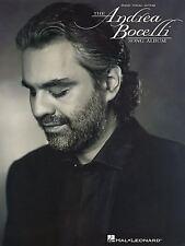 The Andrea Bocelli Song Album by Andrea Bocelli Paperback Book (English)