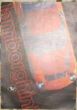 * Lamborghini Miura S Espada Jarama Prospekt brochure deutsch / german  Rar *