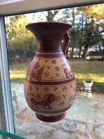 Corinthian Handmade GREEK Ceramic Pottery Oenochoe 450 BC Museum Replica 35
