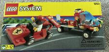 LEGO 1253 SHELL CAR TRANSPORTER Ferrari Formula Racer & Flatbed, NEW BOX
