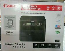 Canon imageCLASS MF232w Wireless Monochrome Laser Printer with WiFi Direct +USB