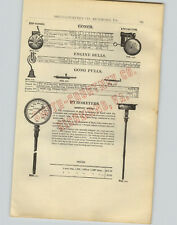1905 PAPER AD Trip Hammer Railroad Locomotive Gong Engine Bell Thompson Indicato