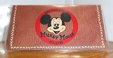 MICKEY MOUSE CLUB CHECKBOOK COVER. DISNEY CARTOONS......FREE SHIPPING