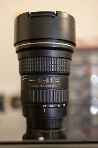 Tokina SD 16-28mm f/2.8 (IF) FX Lens for Canon EF Mount