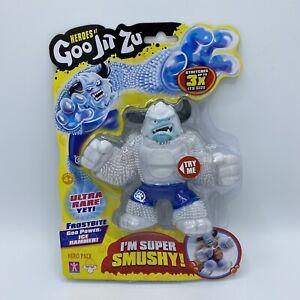 Heroes of Goo Jit Zu Frostbite The Yeti Action Figure - ULTRA RARE - brand new