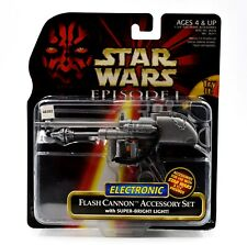 Star Wars Episode 1 - Electronic Flash Cannon Action Figure Accessory Set