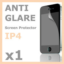 1 x Matte Anti Glare LCD Screen Protector Film Cover for Apple iPhone 4 4S