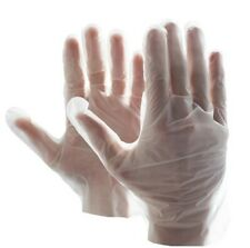 [10000 Pieces] Vinal Food Service Gloves Clear Powder Free (Non Vinyl)- Large