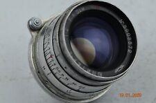 JUPITER 8 silver lens 50mm f2.0 M39 mount Leica Portrait manual Sonnar Silver