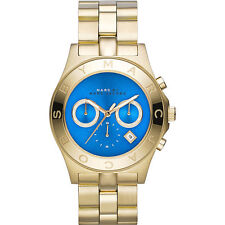 Marc by Marc Jacobs Blade Quartz Analog Blue Dial Unisex Watch MBM3307